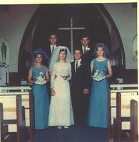 1967 Hall Kaup at Baravik wedding